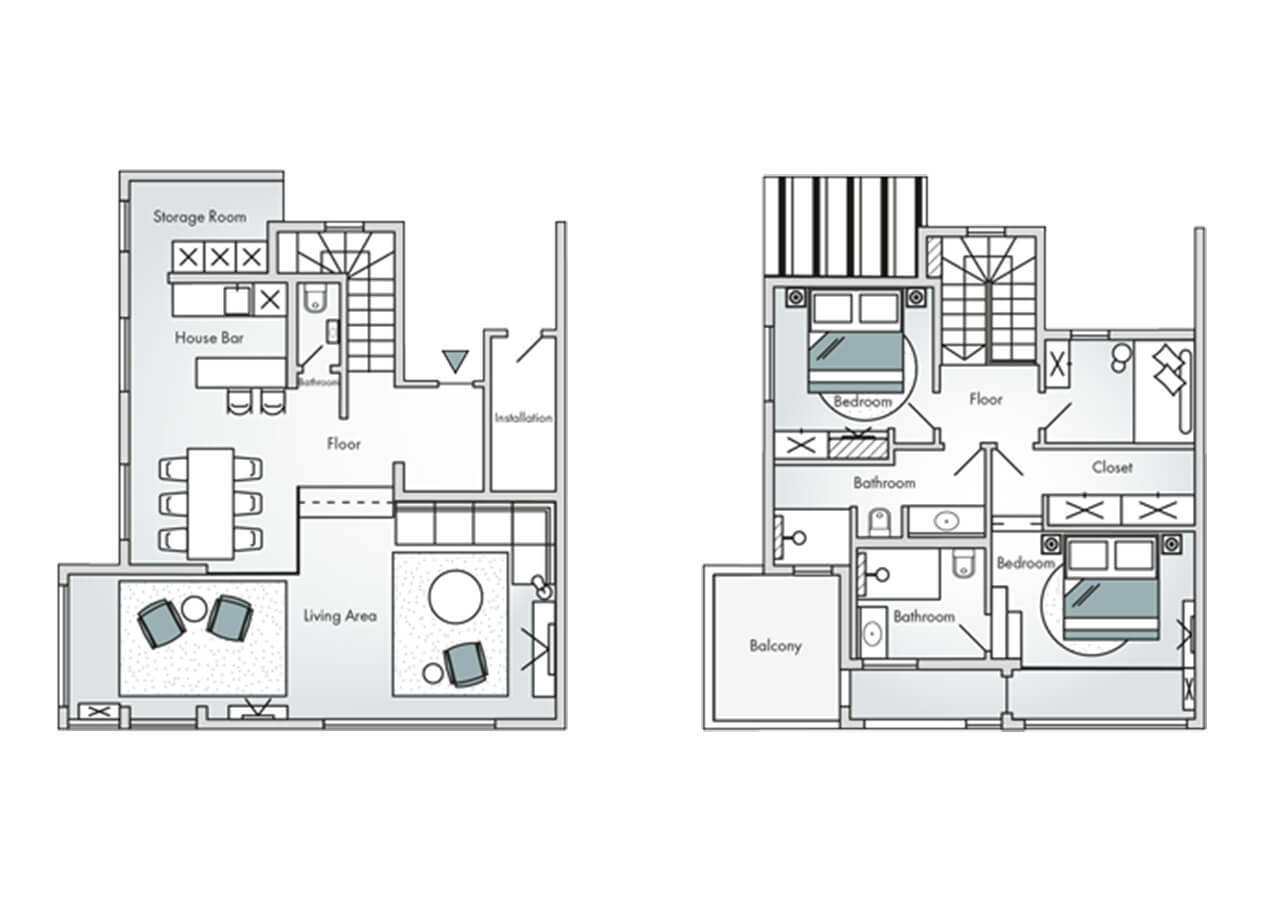Floorplan-Cliff-Suite-Duplex-Deluxe