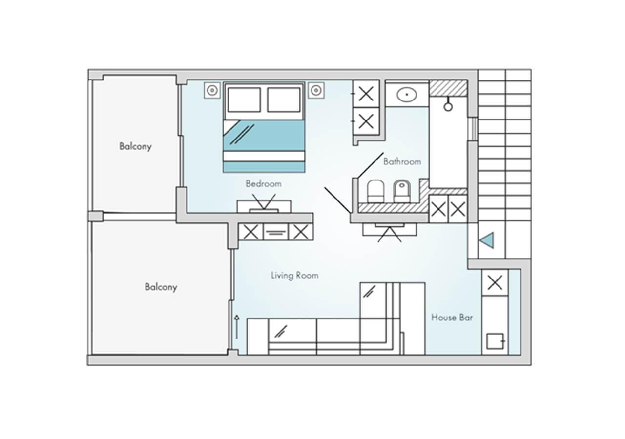 Floorplan-Laguna-Suite-Sea-View