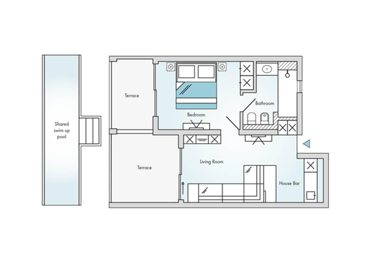 Floorplan-Laguna-Suite-Swim-Up