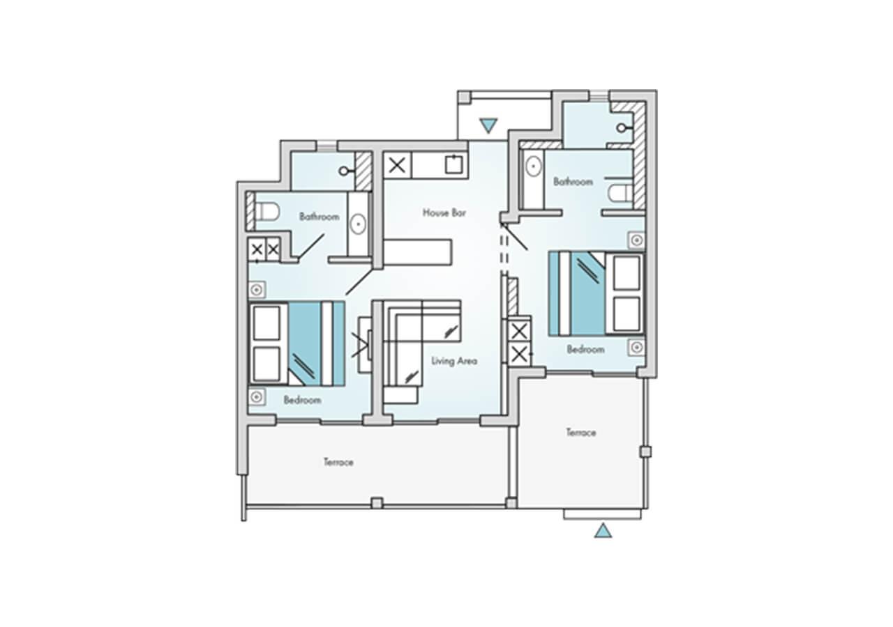 Floorplan-Laguna-Suite-2-Bedroom